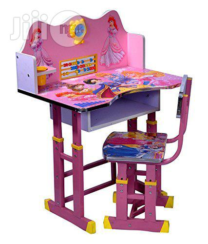 Adjustable Study Table Chair for Children (4-12years) | Children's Furniture for sale in Surulere, Lagos State, Nigeria