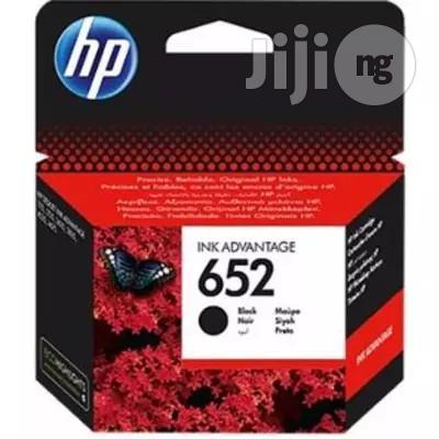 Original HP 652 Ink Advantage Cartridge - Black