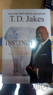 Instinct By TD Jakes | Books & Games for sale in Lagos State, Yaba