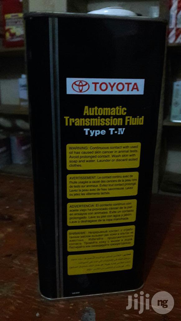 Toyota Nd Lexus Atf T-iv WS Orinal Genuel Pat | Vehicle Parts & Accessories for sale in Durumi, Abuja (FCT) State, Nigeria