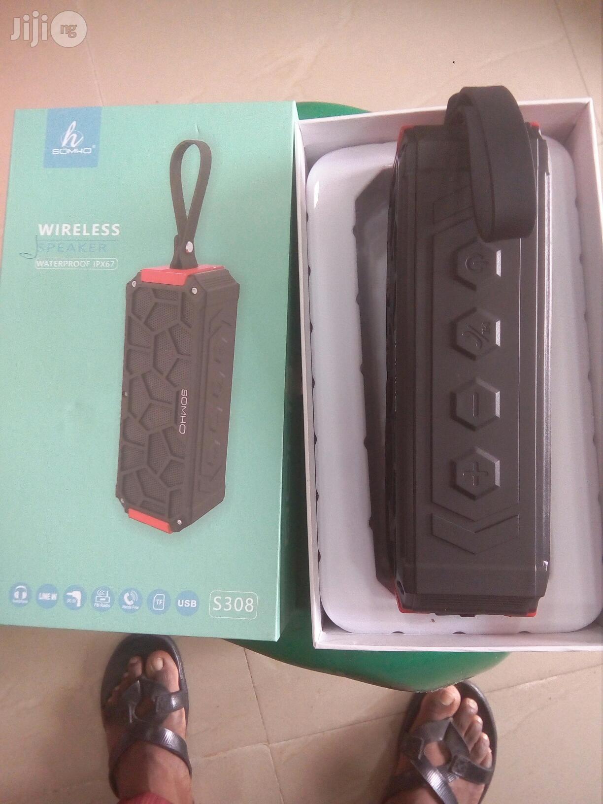 Somho S308 Ipx7 Waterproof Mini Bluetooth Speaker | Audio & Music Equipment for sale in Ikeja, Lagos State, Nigeria