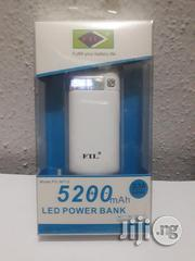 FIL LED Powerbank (5200mah) | Accessories for Mobile Phones & Tablets for sale in Lagos State, Ikotun/Igando