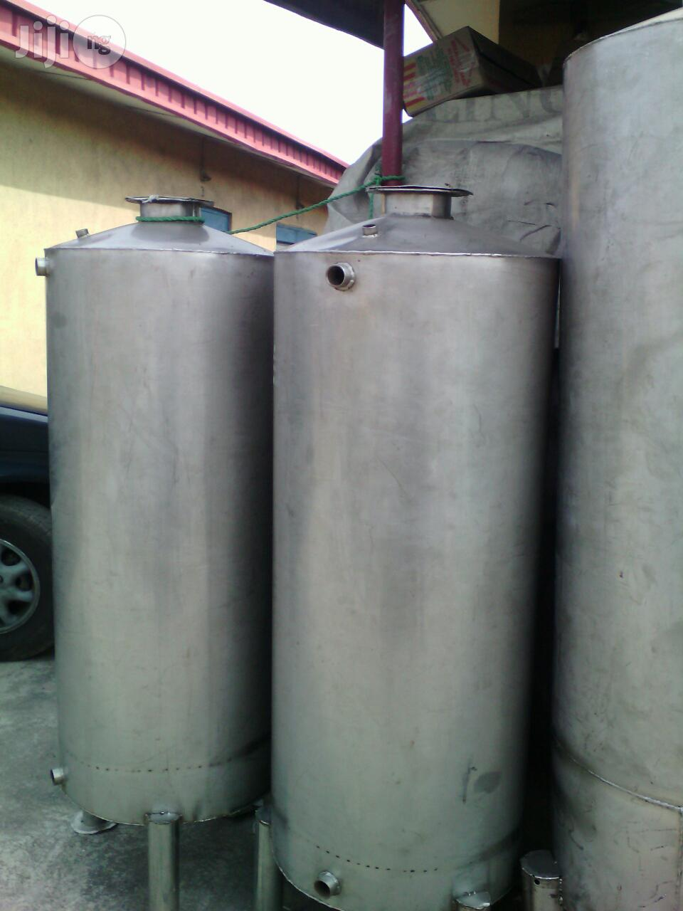 Water Treatment Cylinders And Chemicals