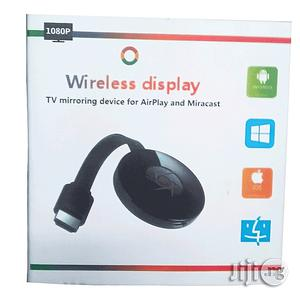 Wireless Display TV Mirroring Device Airplay And Miracast Chromecast   Accessories & Supplies for Electronics for sale in Lagos State, Ikeja