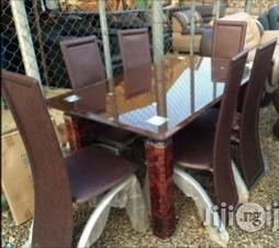 Quality Padded Glass Dining Table Set Brand New