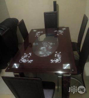 New Padded Glass Dining Table