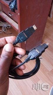 Black Web 4 In 1 HDMI Cable 6ft (1.8m) | Accessories & Supplies for Electronics for sale in Lagos State, Ikeja