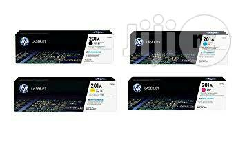 HP 201A Toner Cartridge   Accessories & Supplies for Electronics for sale in Ikeja, Lagos State, Nigeria