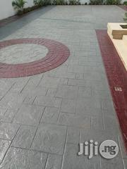 Polished Stamping Concrete Floor Finishing | Landscaping & Gardening Services for sale in Lagos State