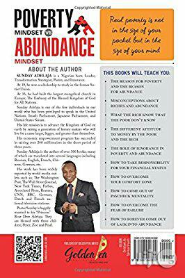 Sunday Adelaja Poverty Mindset Vs Abundance Mindset | Books & Games for sale in Ikeja, Lagos State, Nigeria