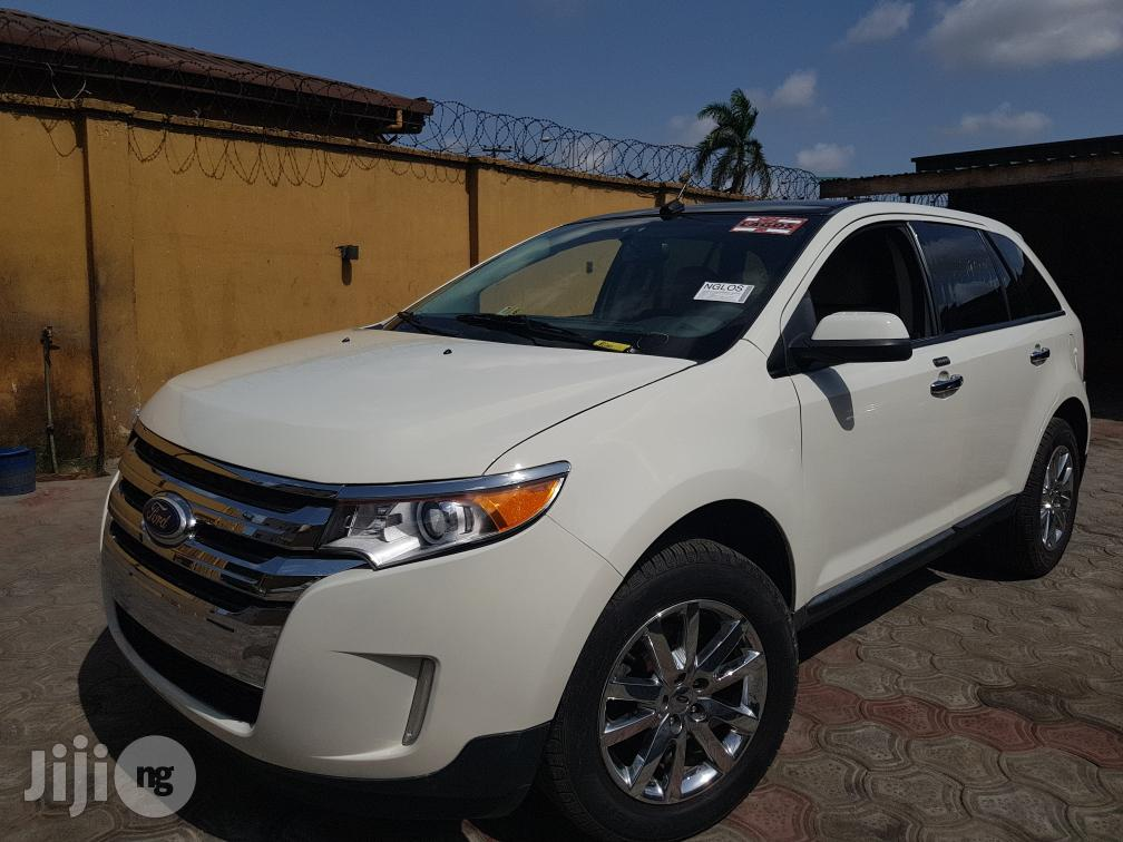 Ford Edge 2013 White   Cars for sale in Surulere, Lagos State, Nigeria