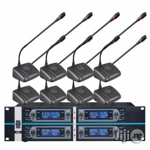 New Digital 8 Channels UHF Conference Microphone | Audio & Music Equipment for sale in Lagos State, Ilupeju