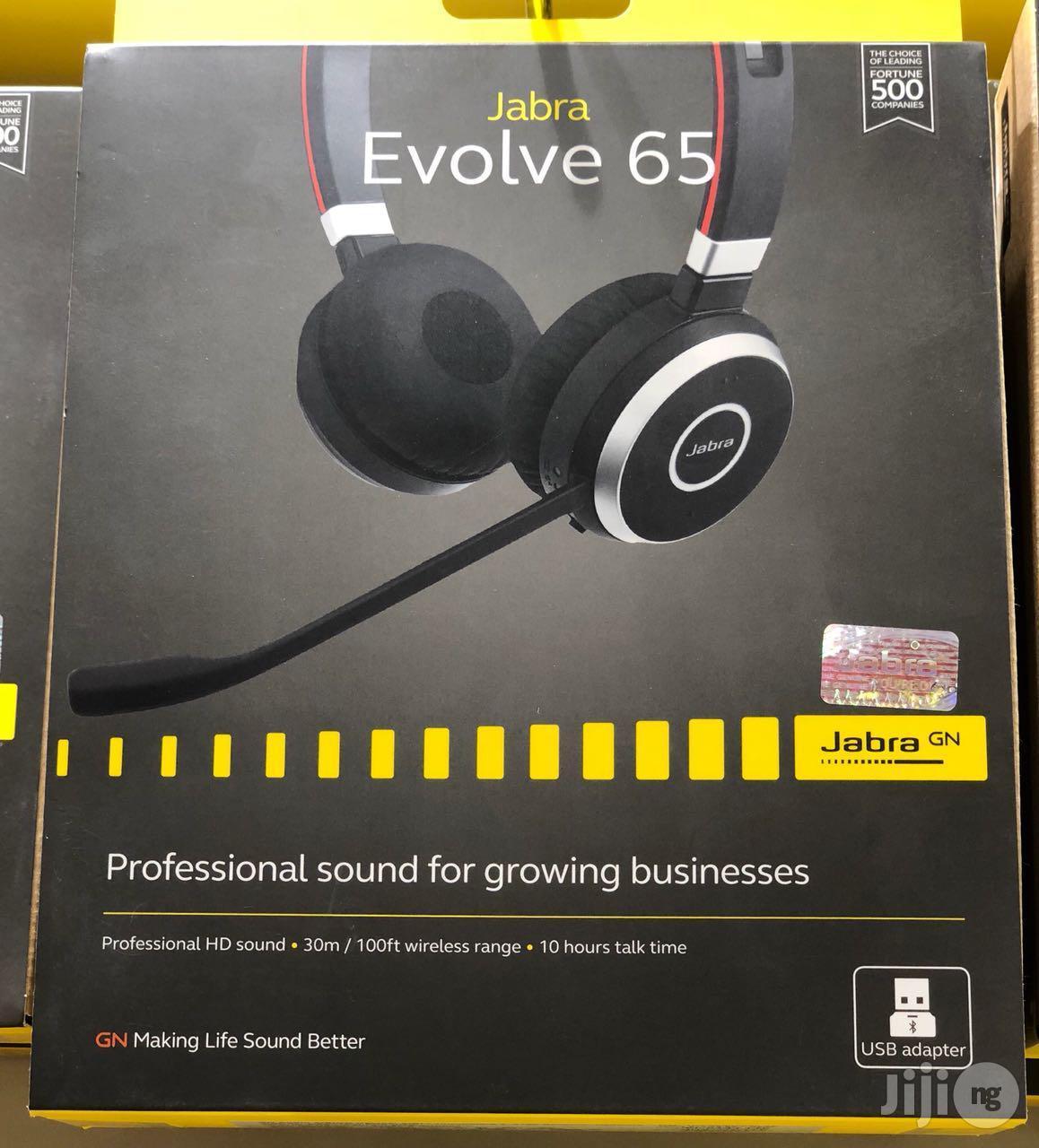 Jabra Evolve 65 Ms Stereo Bluetooth Headset In Port Harcourt Headphones Buzztrends Obinna Jiji Ng For Sale In Port Harcourt Buy Headphones From Buzztrends Obinna On Jiji Ng