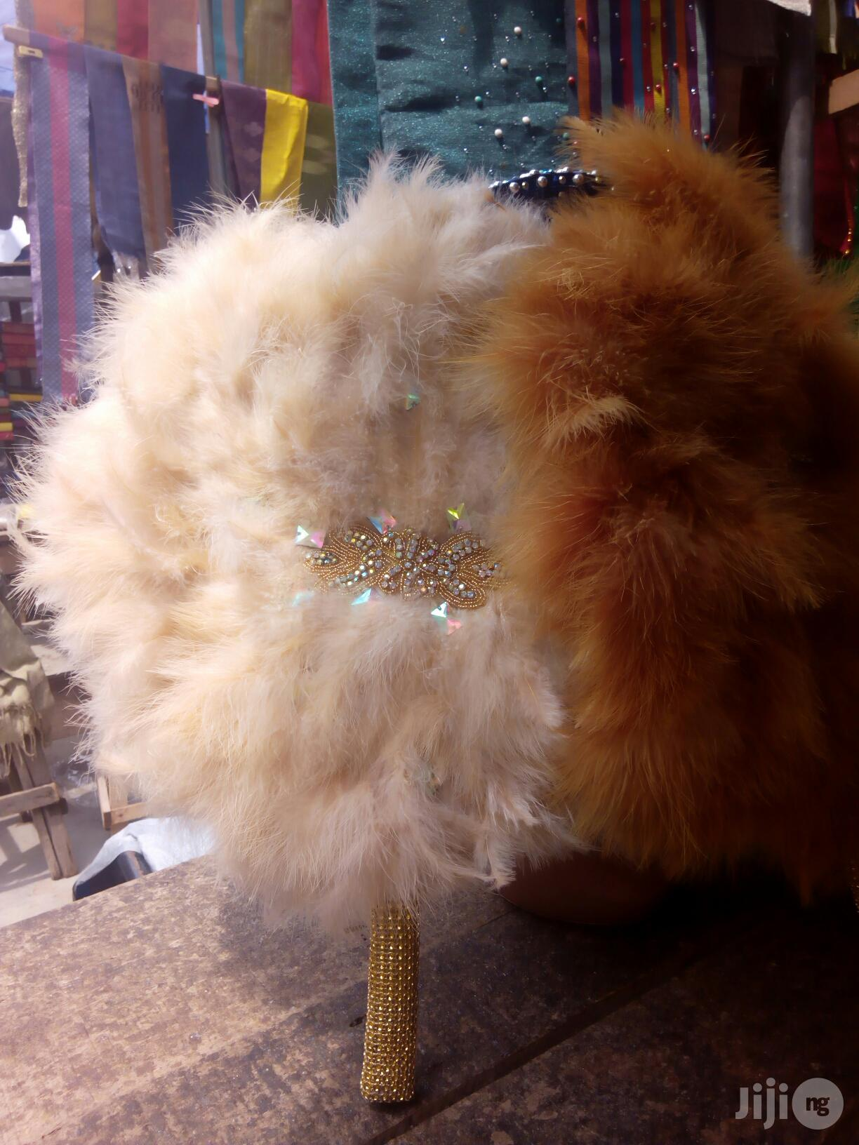 Bridal Handfan | Clothing Accessories for sale in Ojodu, Lagos State, Nigeria