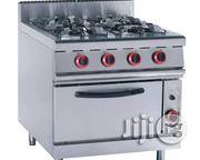 Indsutrial Gas Cooker 4burners Italian Standard With Warranty Just Arrived | Kitchen Appliances for sale in Lagos State, Ojo