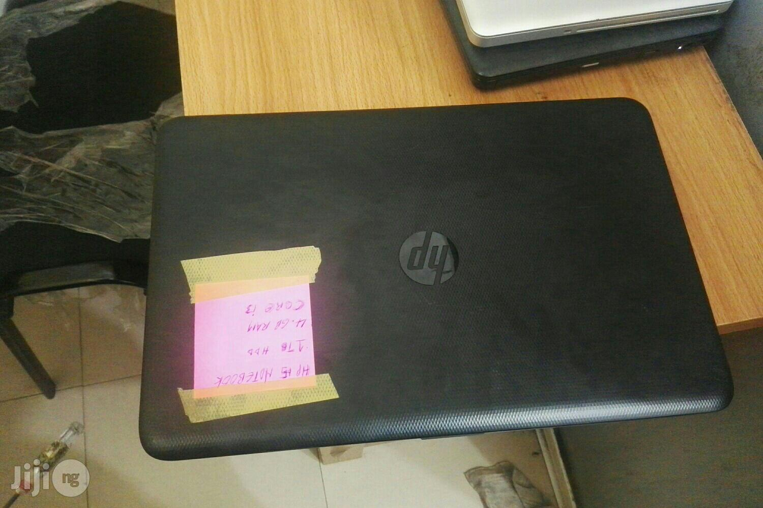 UK Use Hp Notebook 15 Core I3 1tb Hdd 4gb Ram Laptop   Laptops & Computers for sale in Ikeja, Lagos State, Nigeria