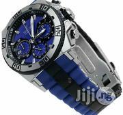 Festina Chronograph Blue Rubber Strap Watch | Watches for sale in Lagos State, Lagos Island