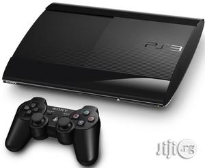 Super Slim Playstation 3 + 10 Games | Video Game Consoles for sale in Lagos State, Ikeja