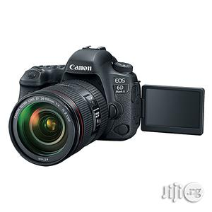 Canon EOS 6D Mark 2 DSLR Camera W/ 24-105mm Lens | Photo & Video Cameras for sale in Lagos State, Ikeja