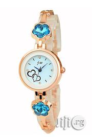 JW Women's Blue Studs - Rose Gold | Watches for sale in Lagos State, Agege