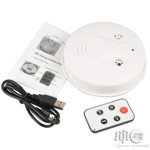 HD Mini DVR Spy Hidden Camera Smoke Detector Motion Detection | Security & Surveillance for sale in Lagos State