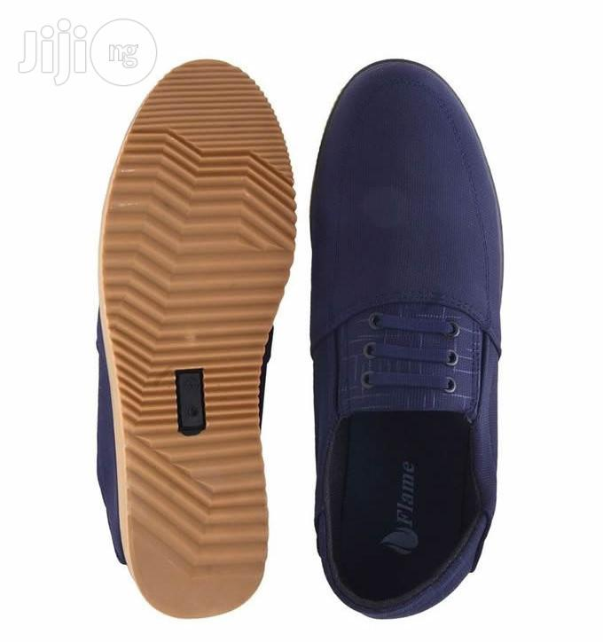 Flames Casual Loafers - Blue