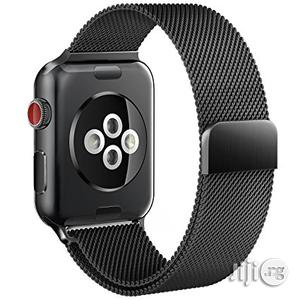Apple Watch Series 3 42mm Space Black Stainless Steel Case | Smart Watches & Trackers for sale in Lagos State
