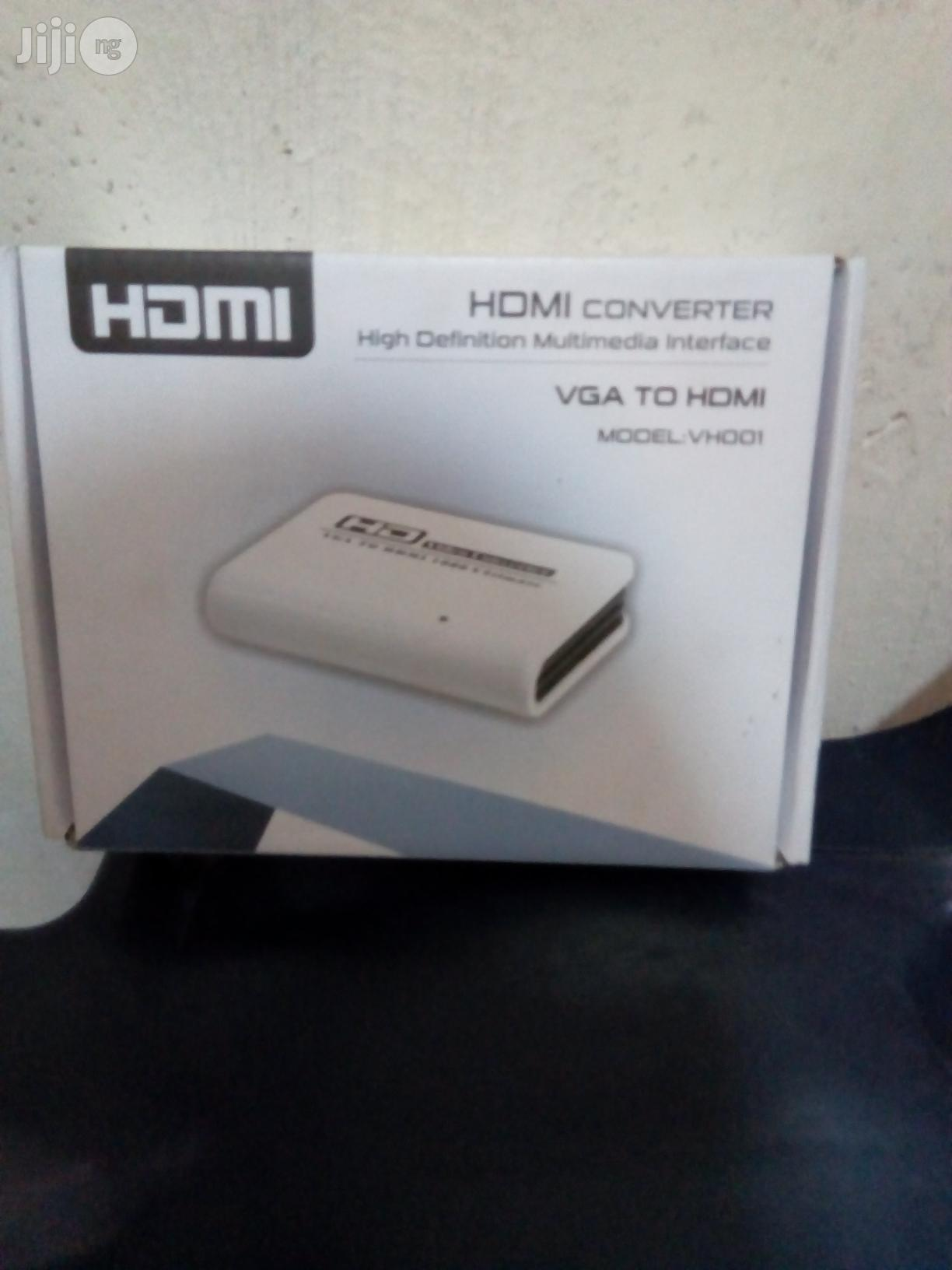 VGA to HDMI Converter | Accessories & Supplies for Electronics for sale in Ikeja, Lagos State, Nigeria