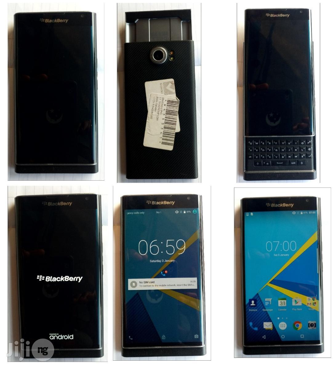 Blackberry Priv Black 32 GB | Mobile Phones for sale in Lagos State, Nigeria