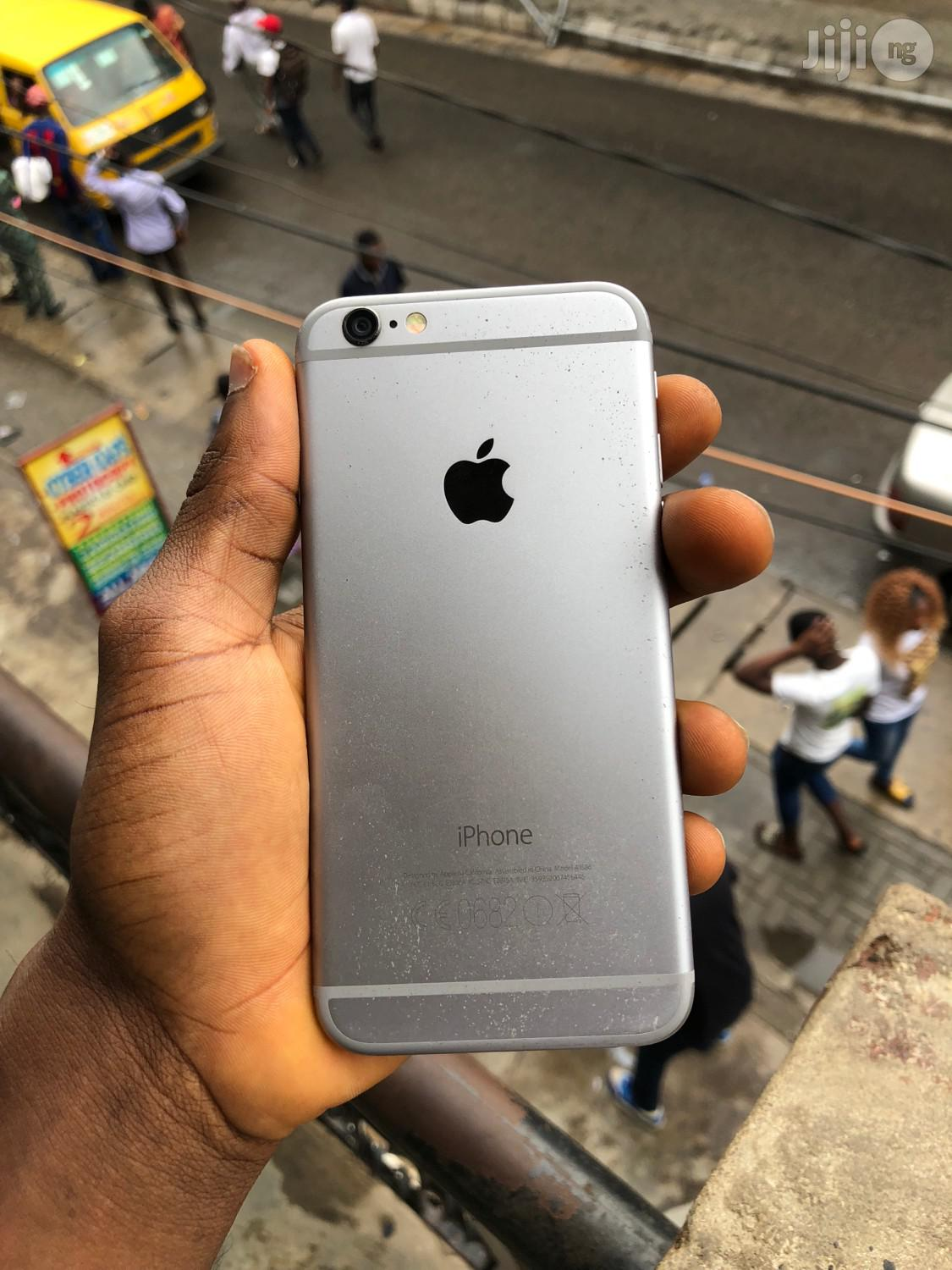 Apple iPhone 6 64 GB Silver   Mobile Phones for sale in Ikeja, Lagos State, Nigeria