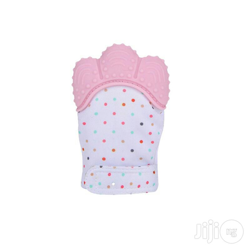 Baby Silicone Teether Pacifier Glove Available in Various Colours | Baby & Child Care for sale in Lagos State, Nigeria