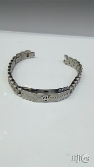 Rolex Stainless Steel Hand Bracelet | Jewelry for sale in Lagos State, Surulere