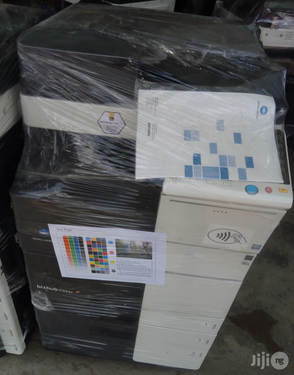 Konica Minolta Bizhub554e Direct Image Printer/Photocopier | Printers & Scanners for sale in Surulere, Lagos State, Nigeria