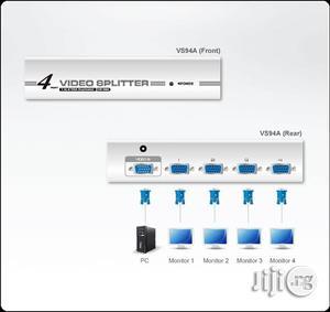 Aten 4-Port VGA Video Splitter(350mhz) - VS94A   Computer Accessories  for sale in Lagos State, Ikeja