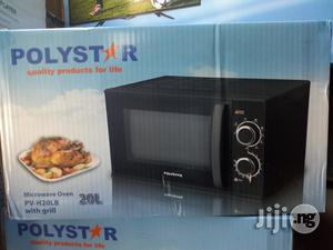 Polystar 20L Microwave Oven With Grill- PV-H20LB   Kitchen Appliances for sale in Lagos State, Ojo