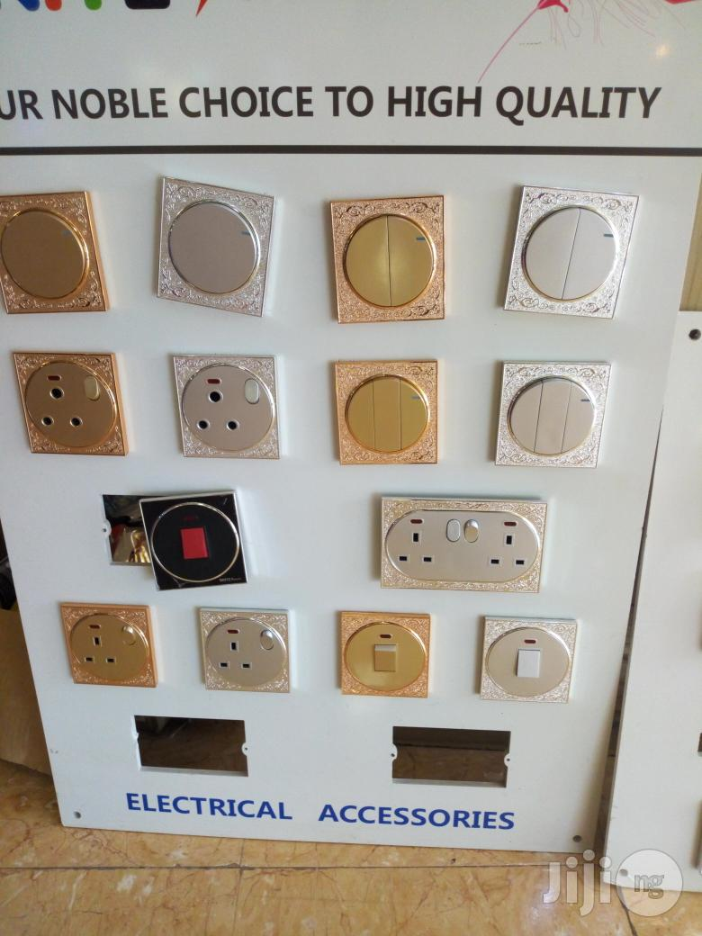 UK Gold Switches And Sockets | Electrical Hand Tools for sale in Lekki, Lagos State, Nigeria