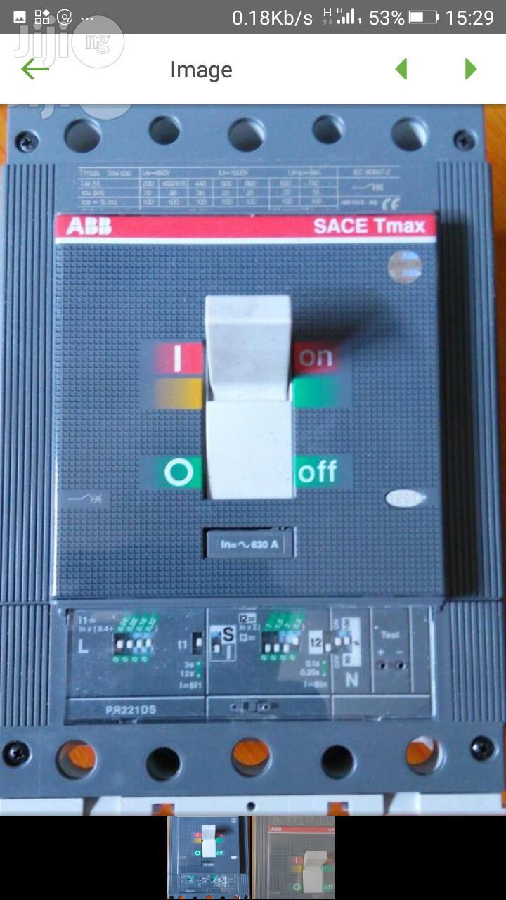ABB Cut Circuit Breaker