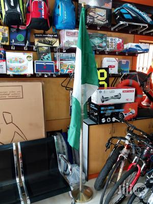 Country Flag With Stand   Sports Equipment for sale in Lagos State, Ikeja