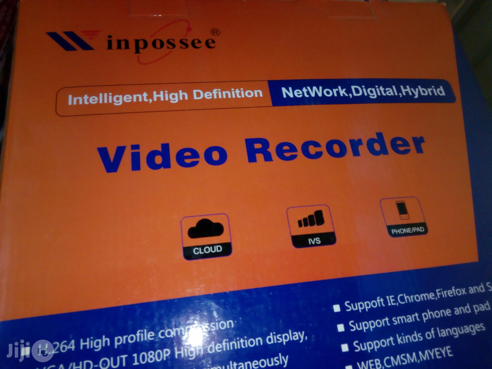 16ch Winpossee AHD DVR 5 In 1camera CCTV System DVR, AHD, HD-TVI,
