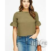 Millenium Flared Sleeve Box Top | Clothing for sale in Lagos State, Shomolu