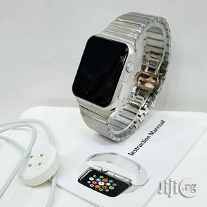 Smart Watch Silver Chain Watch For Unisex | Smart Watches & Trackers for sale in Lagos State, Lagos Island (Eko)