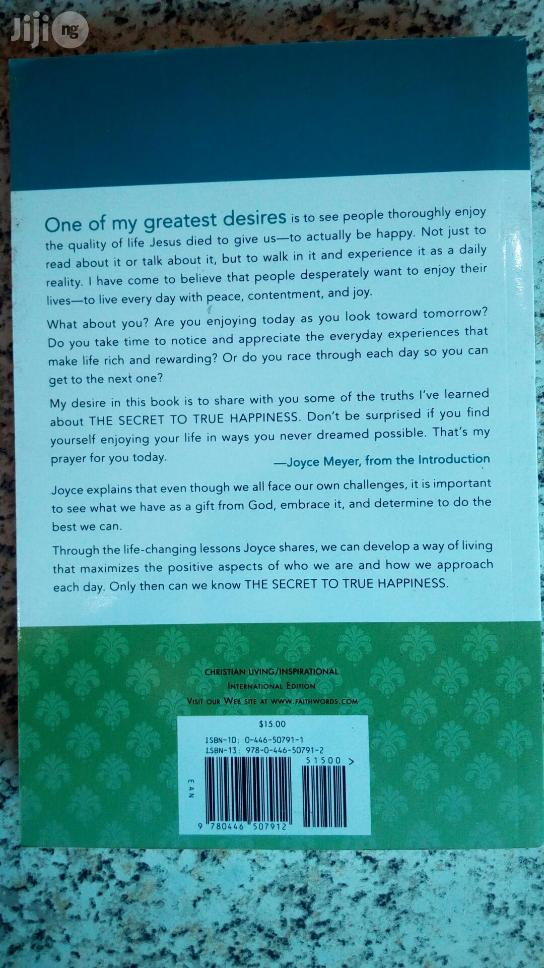 The Secret Of True Happiness By Joyce Meyer | Books & Games for sale in Yaba, Lagos State, Nigeria
