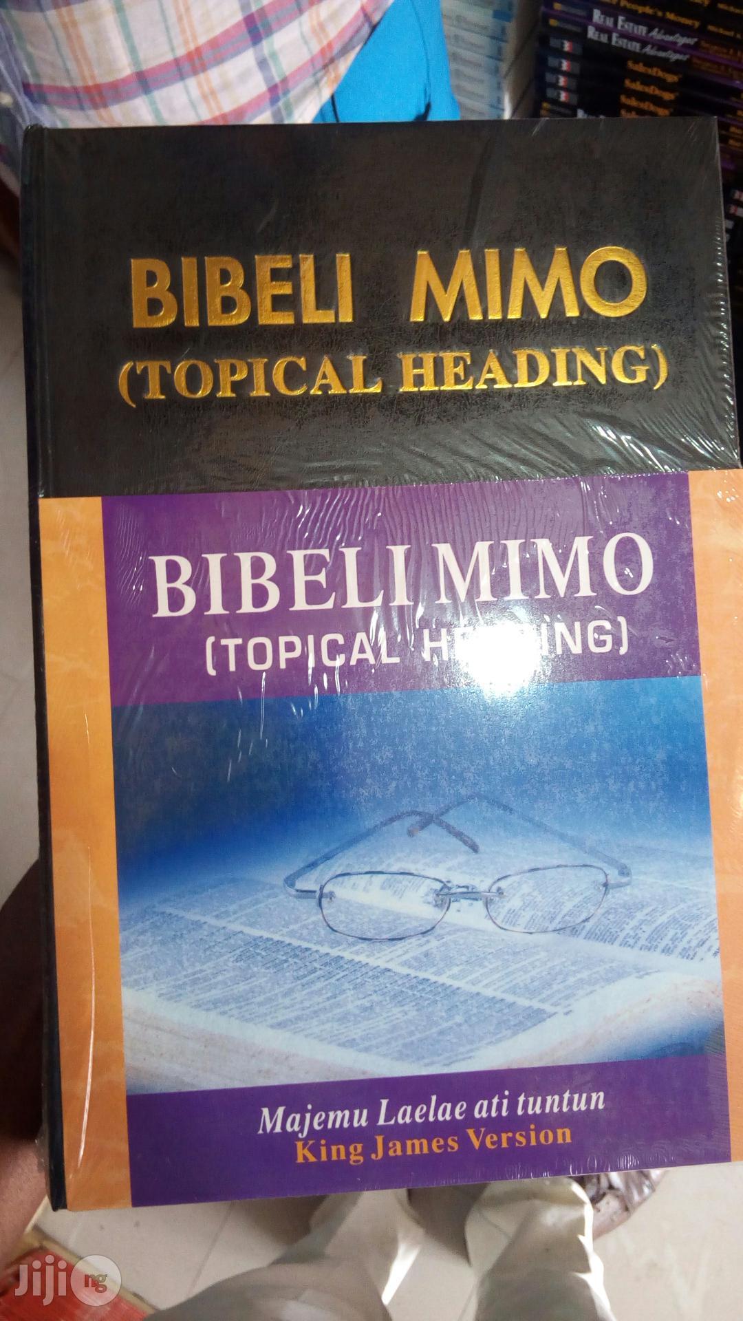 Bibeli Mimo Tropical Pulpit Bible