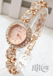 King Girl Women's Classic Studded Wrist Watch - Rose Gold | Watches for sale in Lagos State, Agege