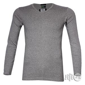 Police 1008 Freesize Plain Grey Medium Long Sleeve T-shirt   Clothing for sale in Lagos State, Surulere