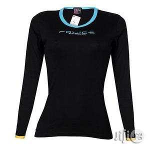 Police G.273 Bodygirl Black Medium Printed Long Sleeve T-shirt   Clothing for sale in Lagos State, Surulere