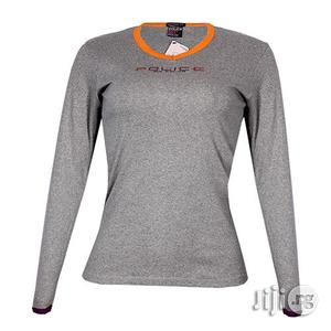 Police G.273 Bodygirl Grey Medium Printed Long Sleeve T-Shirt   Clothing for sale in Lagos State, Surulere