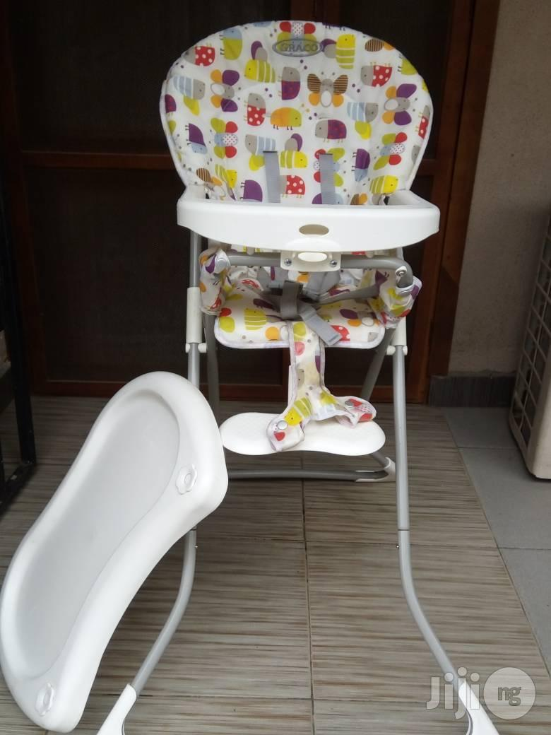 Tokunbo UK Used Graco Baby High Feeding Chair | Children's Furniture for sale in Ojodu, Lagos State, Nigeria