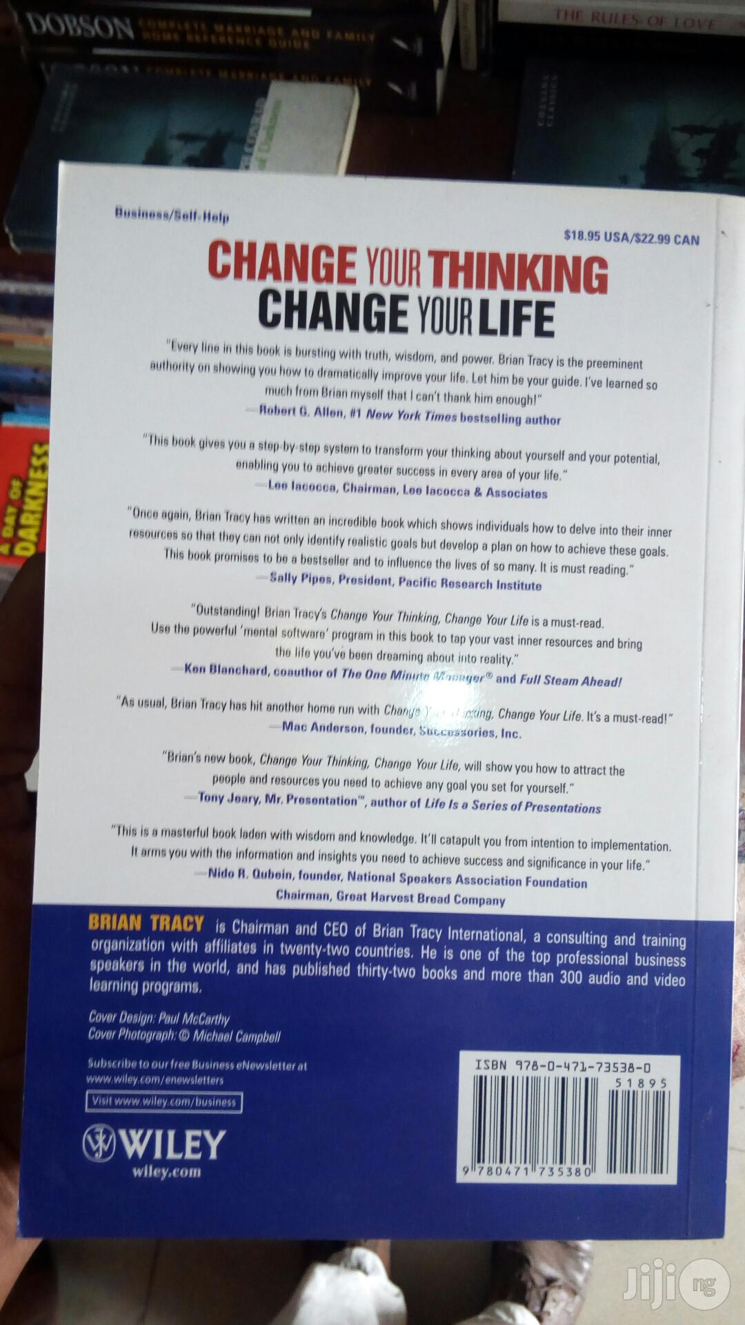 Change Thinking You Change Your Life | Books & Games for sale in Yaba, Lagos State, Nigeria
