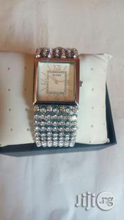 Full Stone Diamond Like Guess Watch | Watches for sale in Lagos State, Ikeja